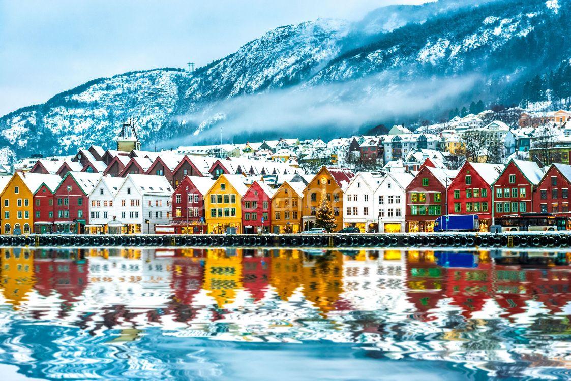 Скандинавия север фотосессия