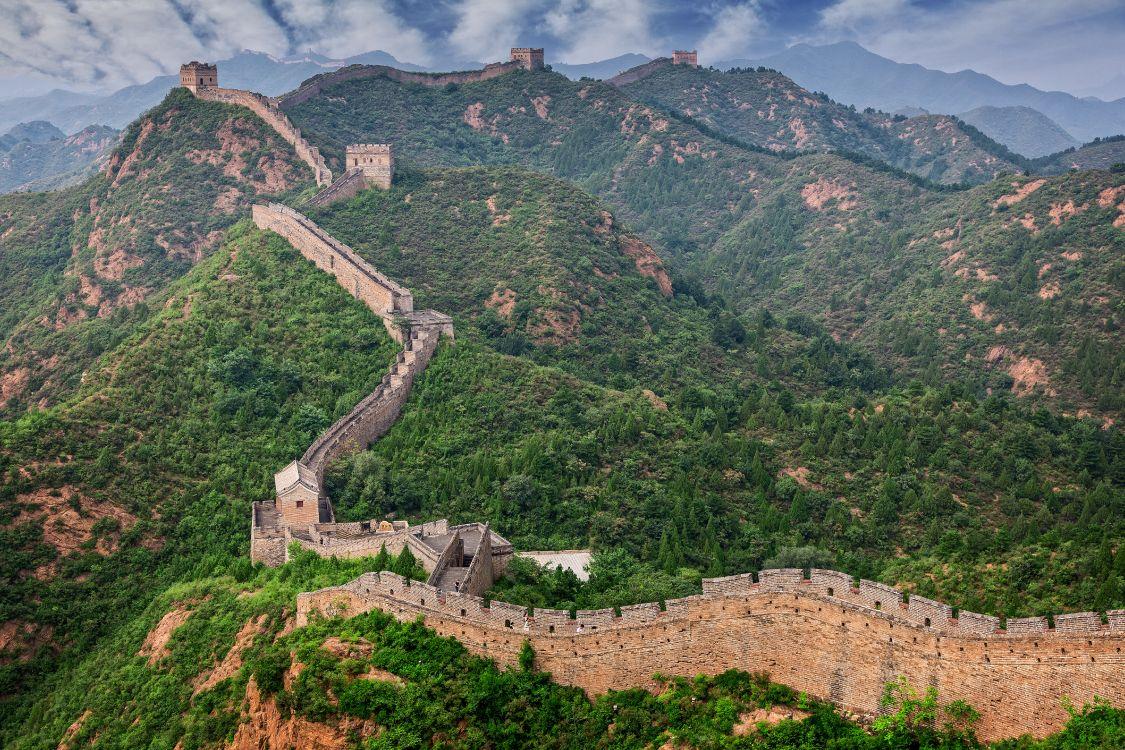 бывает, красивые фото китайской стены сейчас живет семья