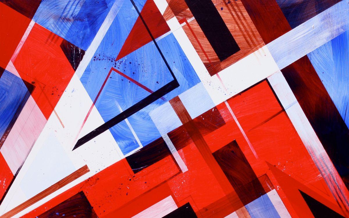 Картинки красные с синим