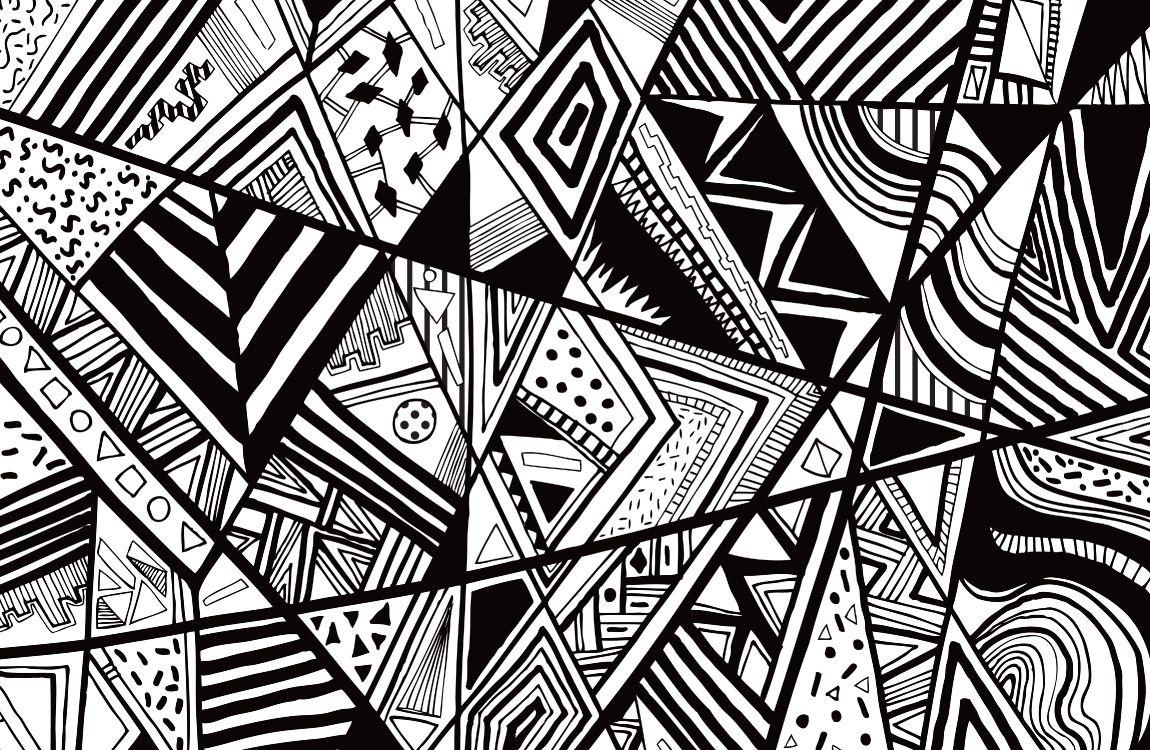 Графика черное и белое картинки