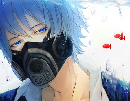Обои кайто, аниме, вокалоид, характер, мультфильм на ...