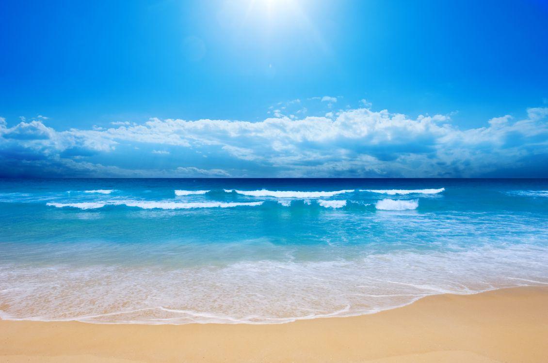 приборы, картинки морского берега первый подарок, добрый
